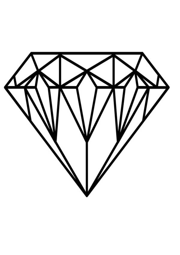Diamond coloring #16, Download drawings