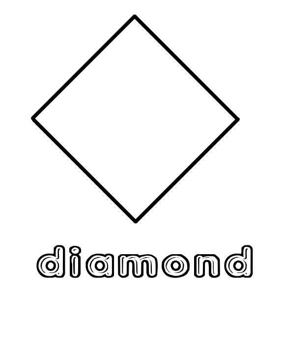 Diamond coloring #13, Download drawings