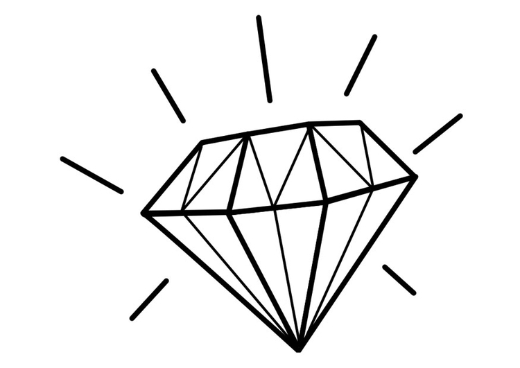 Diamond coloring #7, Download drawings
