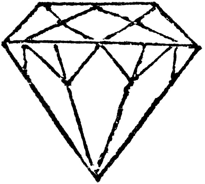 Diamond coloring #10, Download drawings