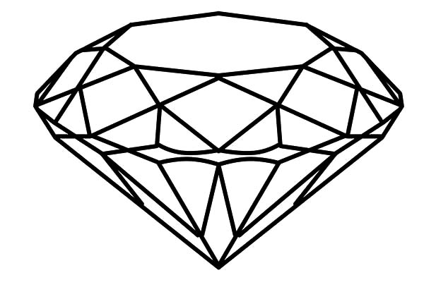Diamond coloring #19, Download drawings