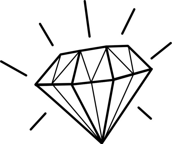 diamond svg free #939, Download drawings