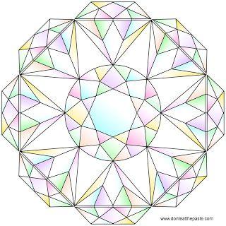 Diamonds coloring #13, Download drawings