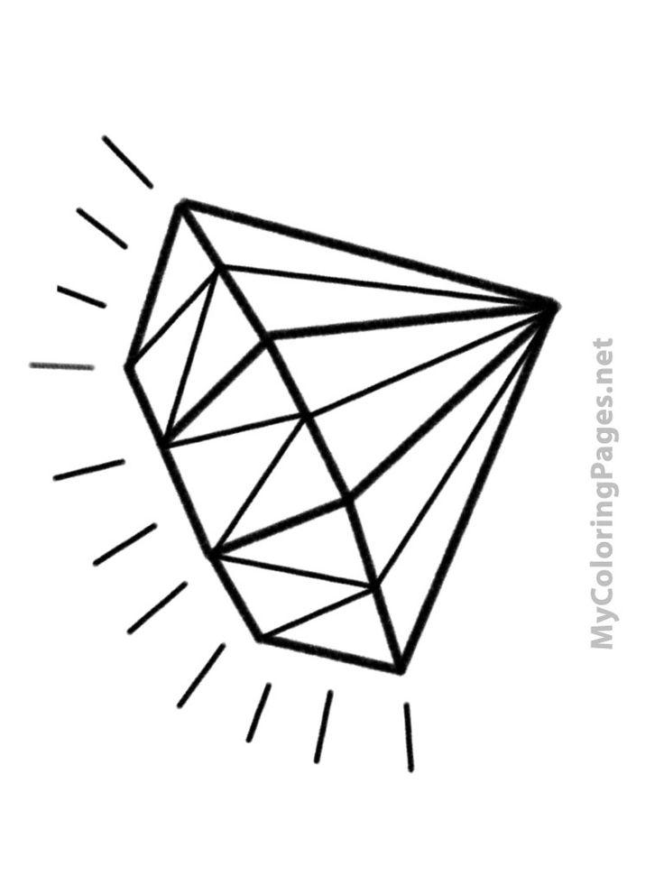 Diamonds coloring #19, Download drawings