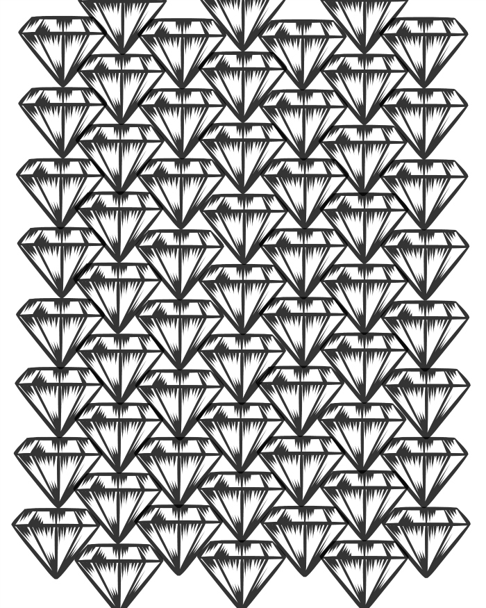 Diamonds coloring #16, Download drawings