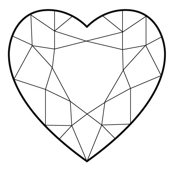 coloring pages diamonds | Diamonds coloring, Download Diamonds coloring for free 2019