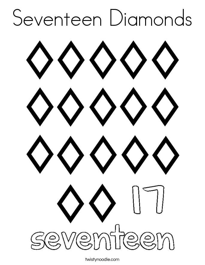 Diamonds coloring #4, Download drawings