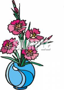 Dianthus clipart #2, Download drawings