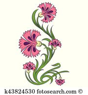 Dianthus clipart #16, Download drawings