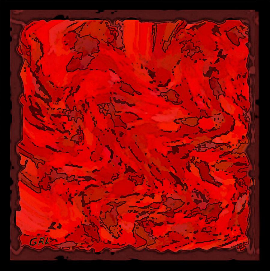 Digital Art Red coloring #15, Download drawings