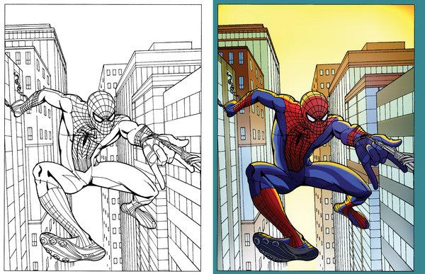 Digital coloring #8, Download drawings