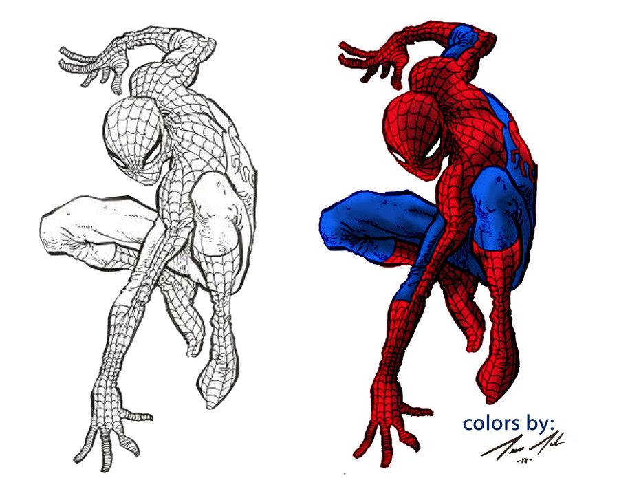 Digital coloring #1, Download drawings