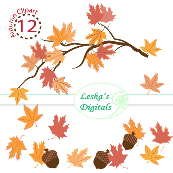 Digital Leave clipart #1, Download drawings