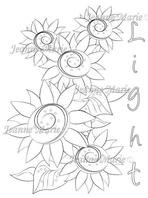 Digital Light coloring #5, Download drawings