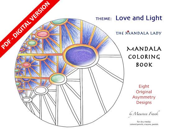 Digital Light coloring #3, Download drawings