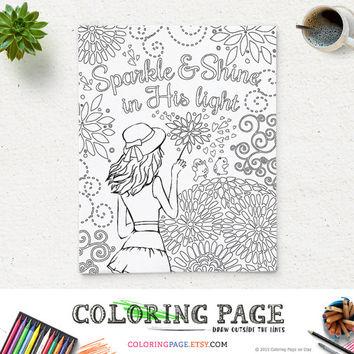 Digital Light coloring #11, Download drawings