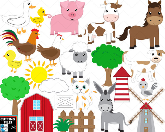 Farm Animals svg #15, Download drawings