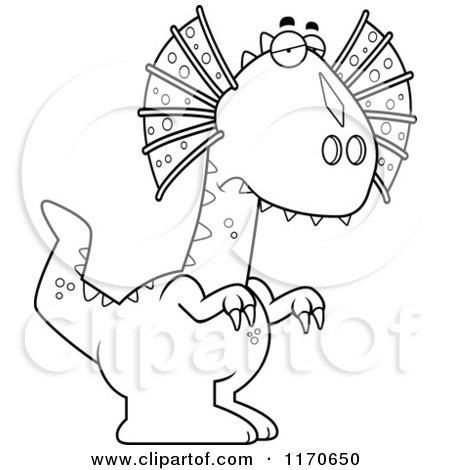 Dilophosaurus clipart #8, Download drawings