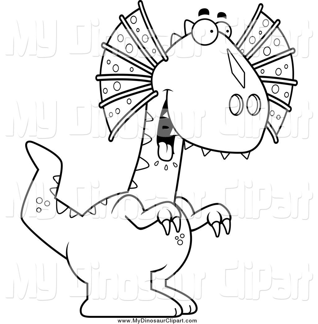 Dilophosaurus clipart #3, Download drawings