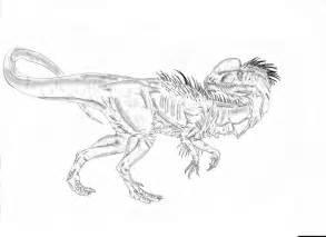 Dilophosaurus coloring #3, Download drawings