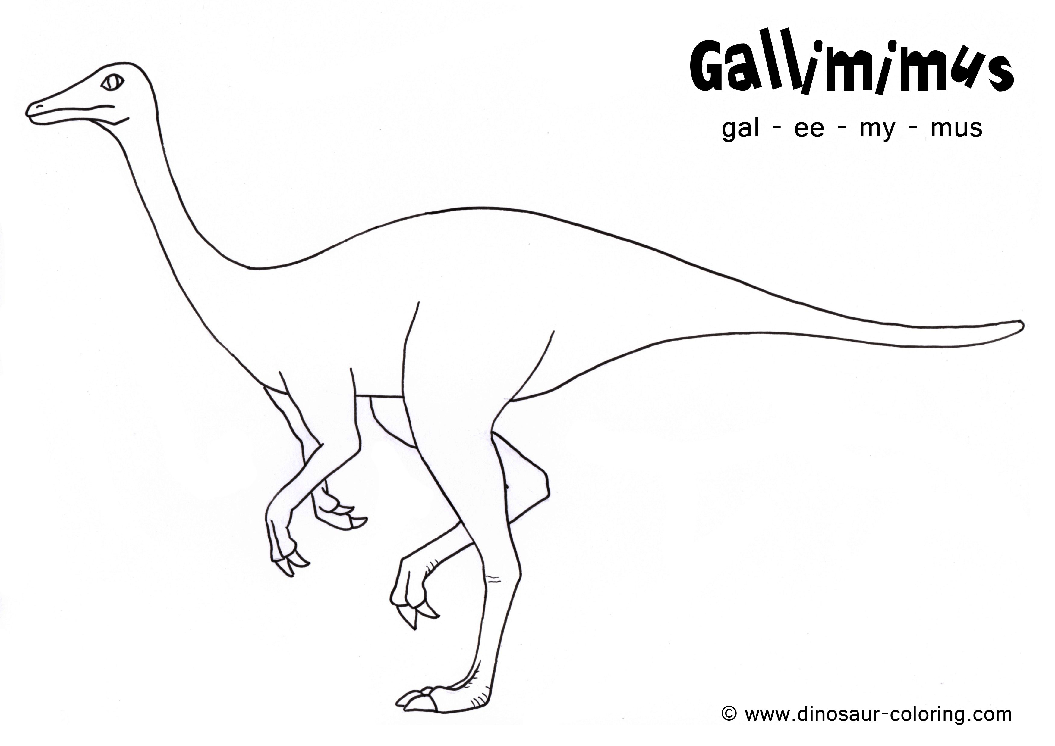 Dinosaur coloring #2, Download drawings