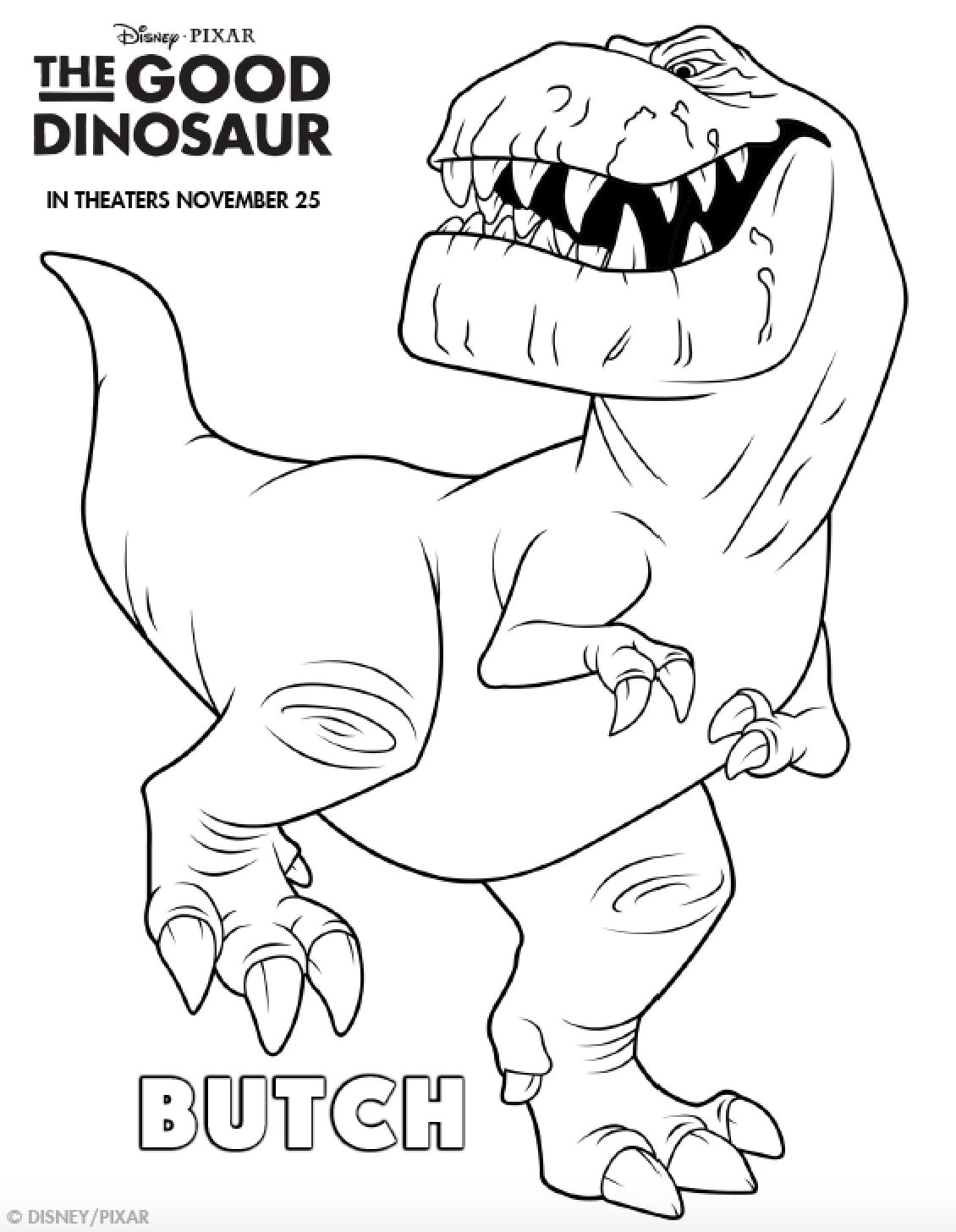 Dinosaur coloring #8, Download drawings
