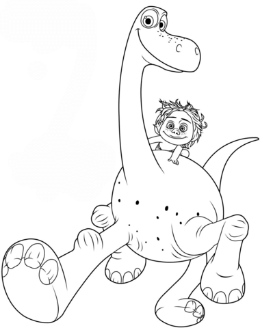 Dinosaur coloring #19, Download drawings