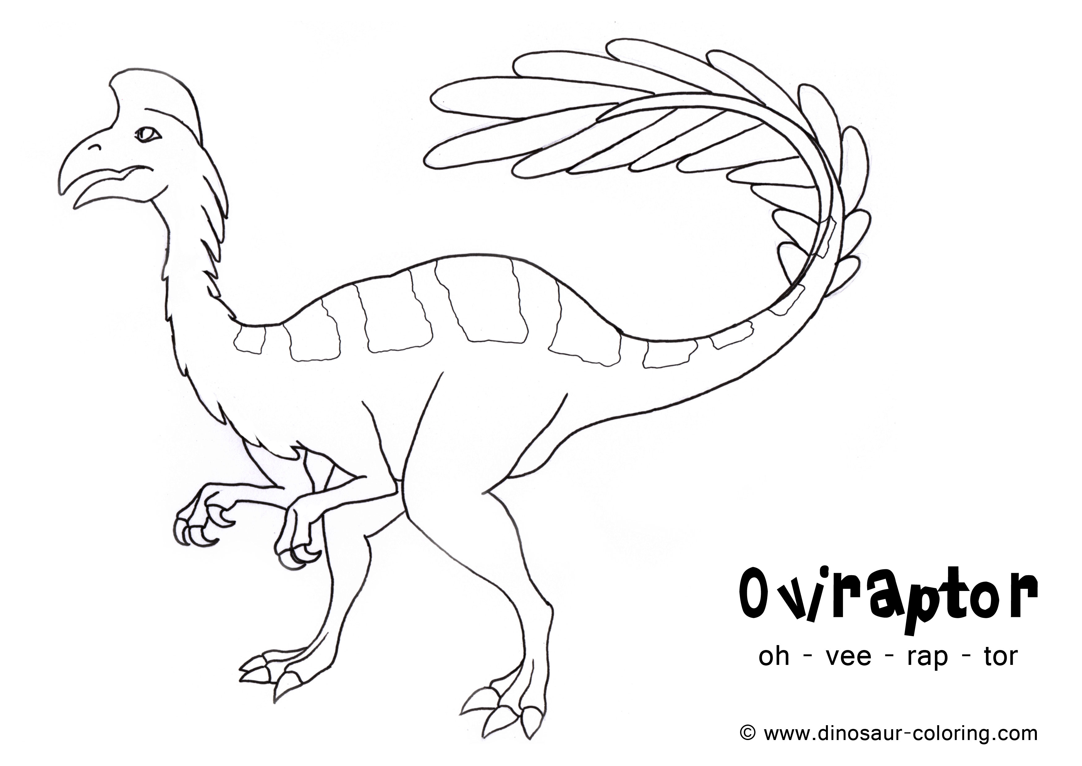 Dinosaur coloring #5, Download drawings