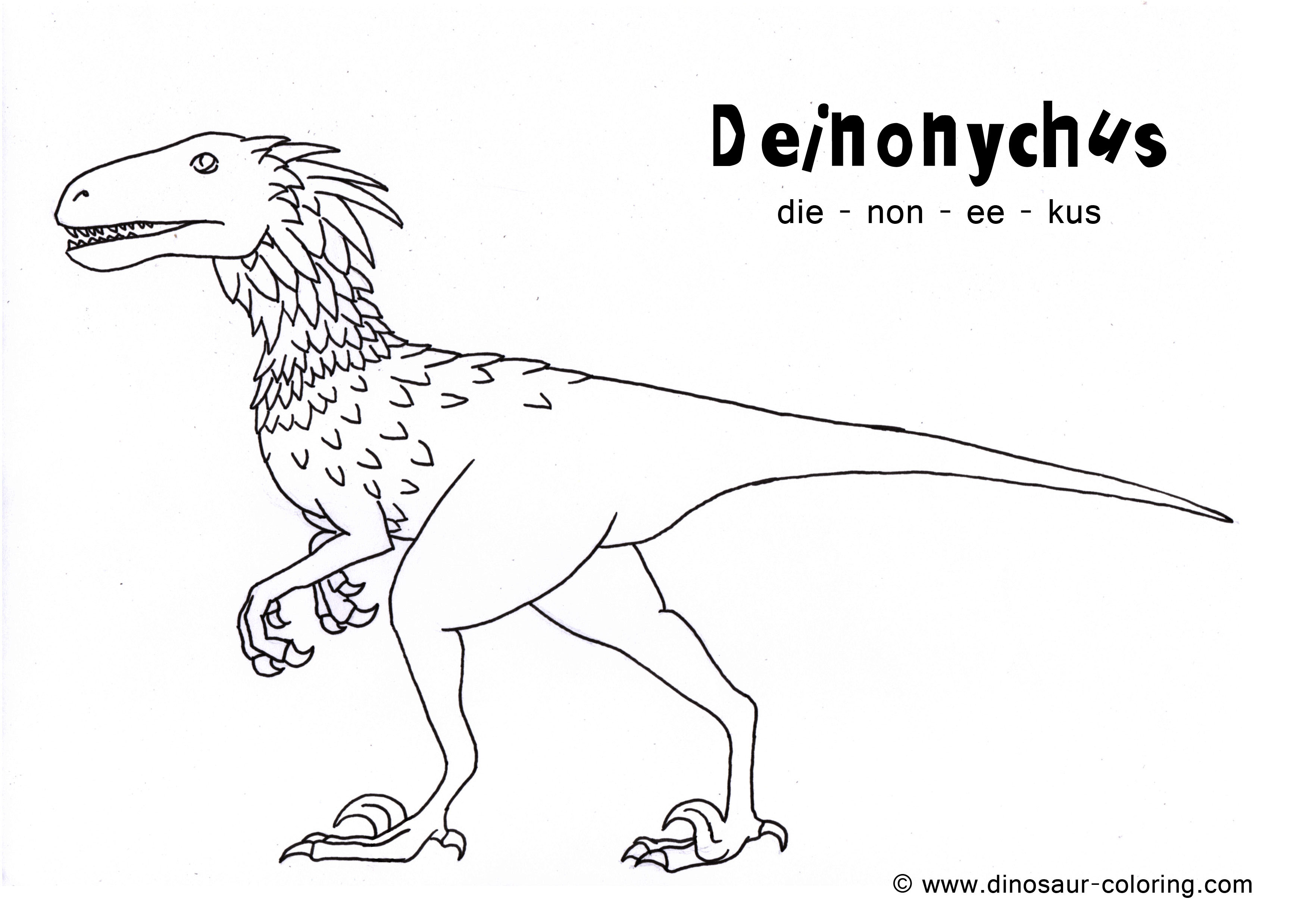 Dinosaur coloring #3, Download drawings