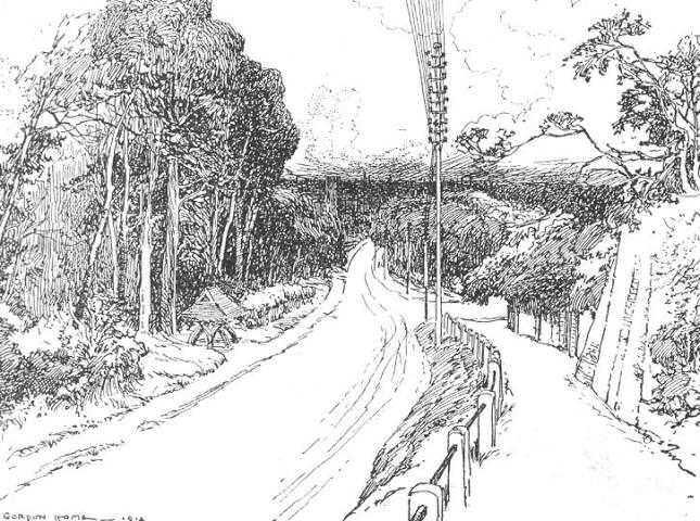 Dirt Road coloring #3, Download drawings
