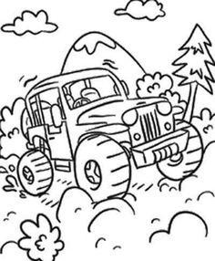 Dirt Road coloring #10, Download drawings