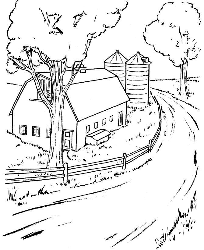 Dirt Road coloring #15, Download drawings