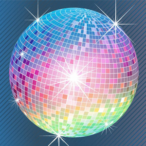 Disco Ball coloring #6, Download drawings