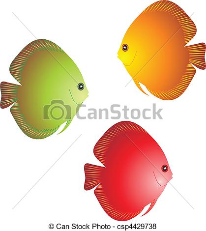 Discus Fish clipart #7, Download drawings