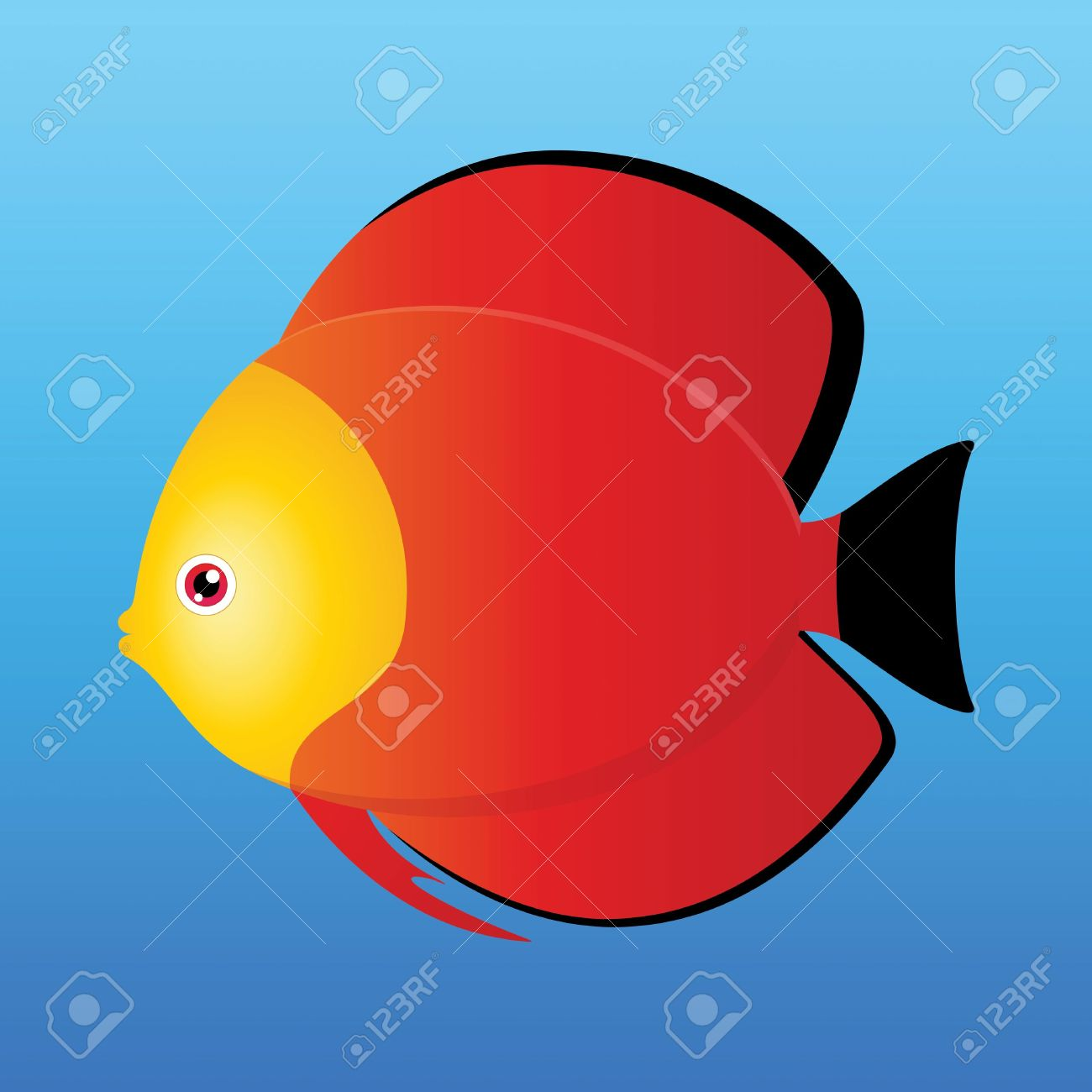 Discus Fish clipart #2, Download drawings