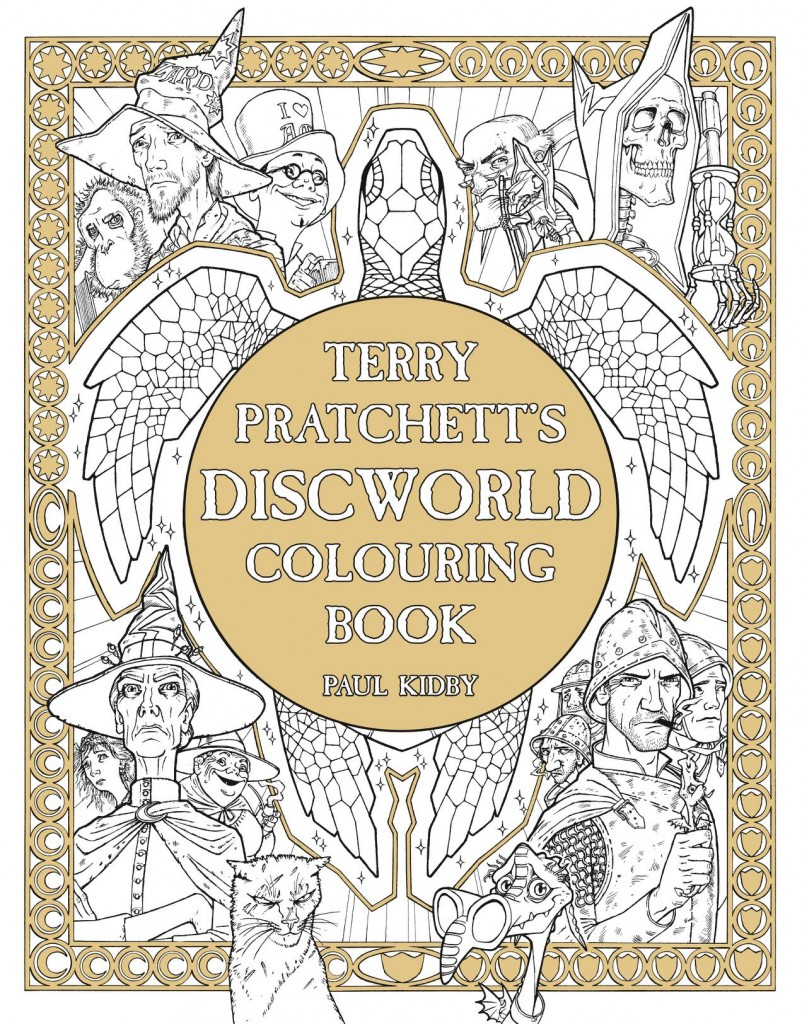 Discworld coloring #17, Download drawings