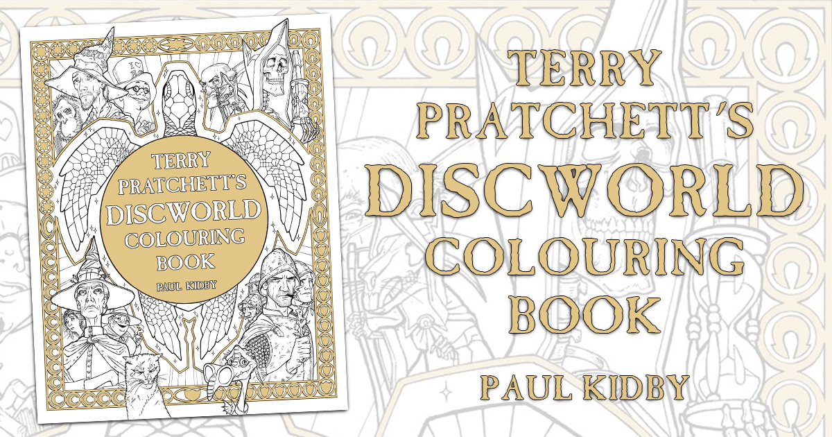 Discworld coloring #7, Download drawings