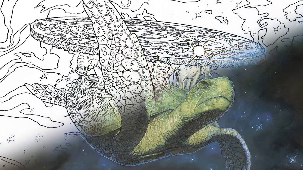 Discworld coloring #12, Download drawings