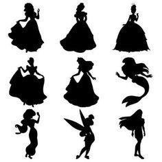 disney princess silhouette svg #992, Download drawings
