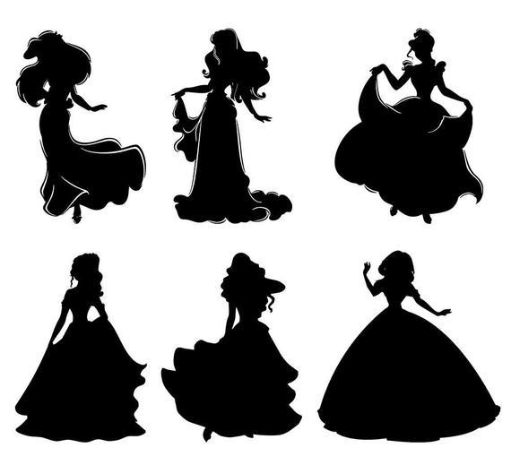 disney princess silhouette svg #991, Download drawings