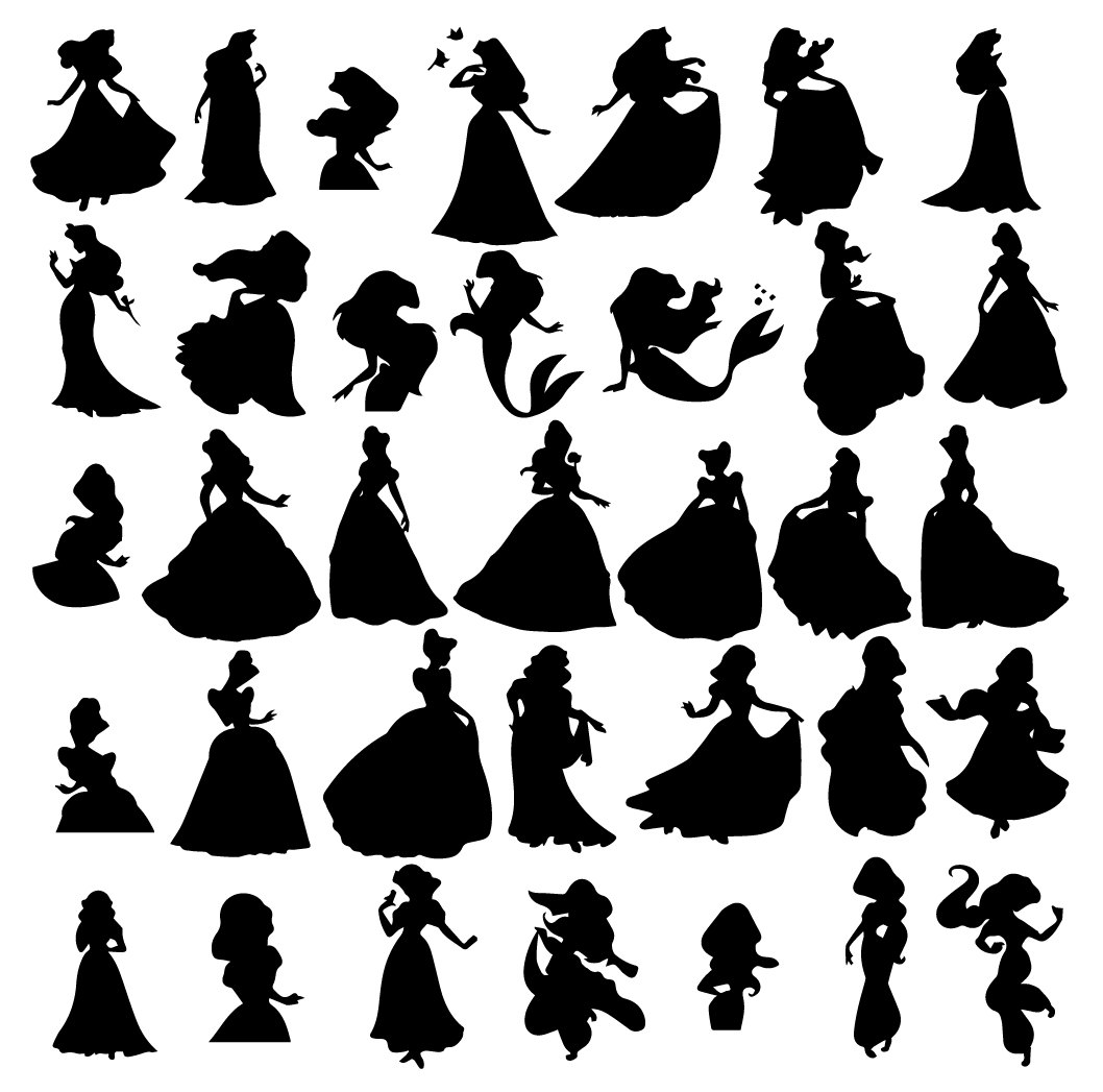 disney princess silhouette svg #989, Download drawings