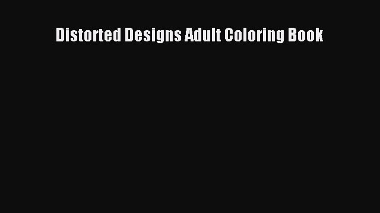 Distorted coloring #6, Download drawings