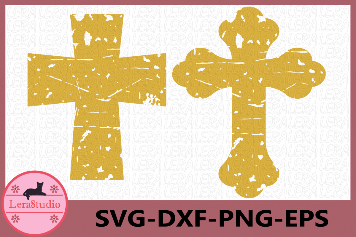 distressed cross svg #915, Download drawings
