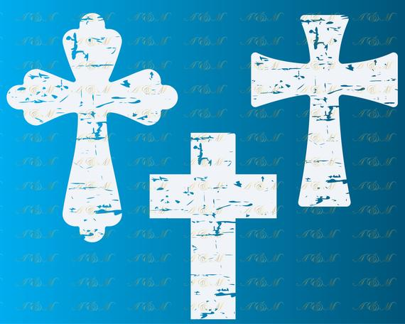 distressed cross svg #910, Download drawings