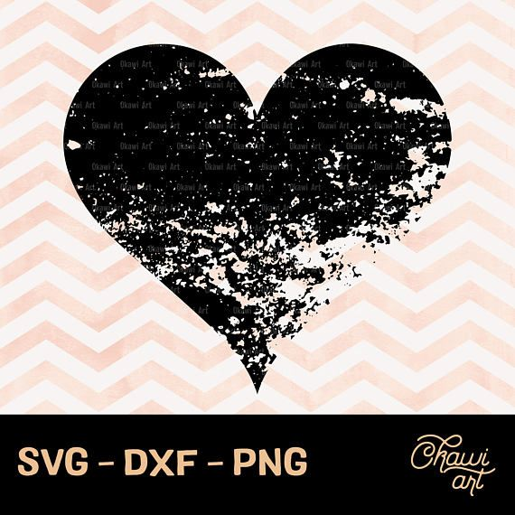 distressed heart svg #76, Download drawings