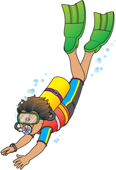 Diver clipart #19, Download drawings