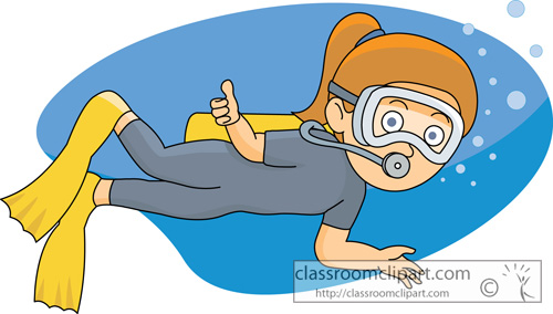 Diver clipart #3, Download drawings