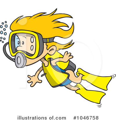Diver clipart #2, Download drawings