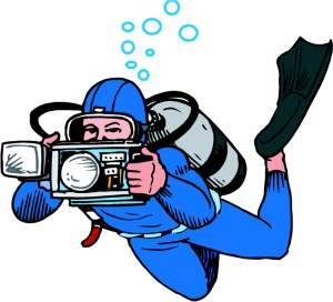 Diver clipart #8, Download drawings