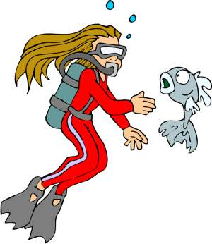 Diver clipart #10, Download drawings